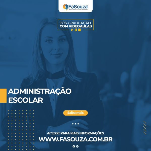 Faculdade FaSouza - Administração Escolar