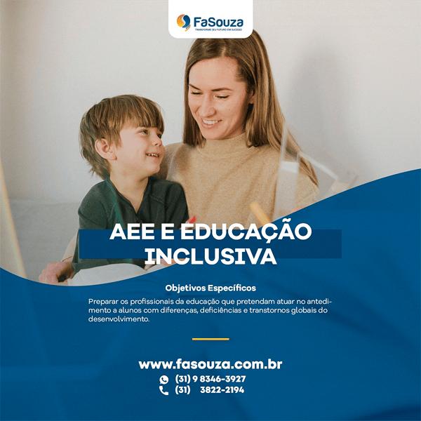Pós-Graduação AEE e a Educação Inclusiva - Pós-Graduação EA