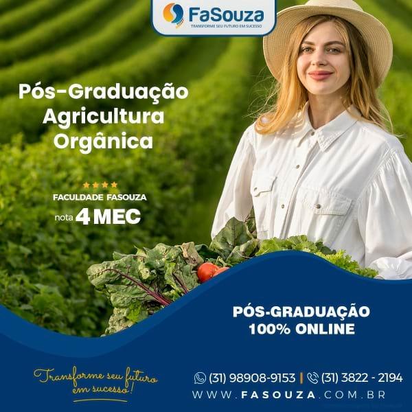 Pós-Graduação AGRICULTURA ORGÂNICA