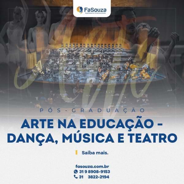 Faculdade FaSouza - Arte na Educação - Dança, Música e Teatro