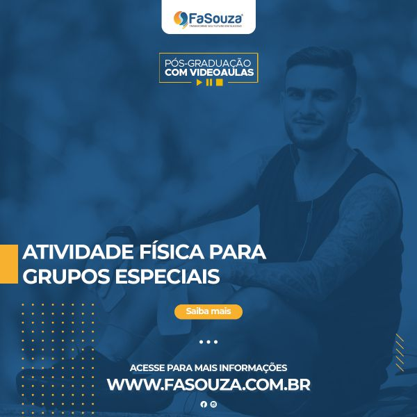 Faculdade Souza - Atividade Física para Grupos Especiais