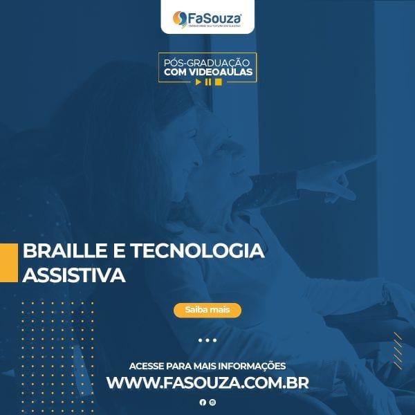 Faculdade FaSouza - Braille e Tecnologia Assistiva
