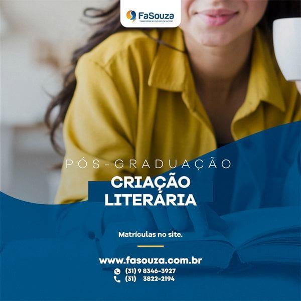 Faculdade Souza - Criação Literária