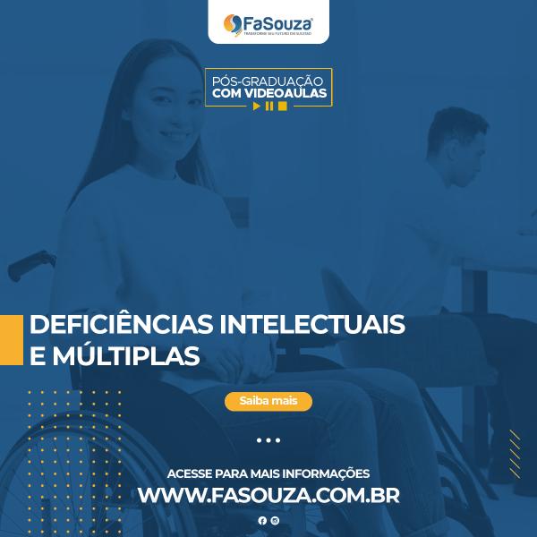 Faculdade FaSouza - Deficiências Intelectuais e Múltiplas