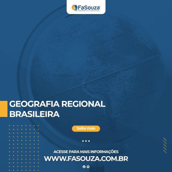 Geografia Regional Brasileira