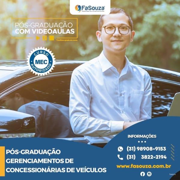Faculdade FaSouza - Gerenciamentos de concessionárias de veículos
