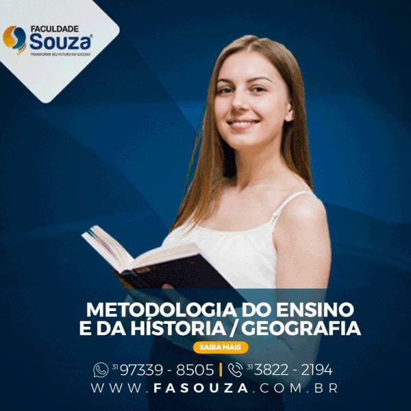 Faculdade Souza - Metodologia de Ensino de Geografia e História