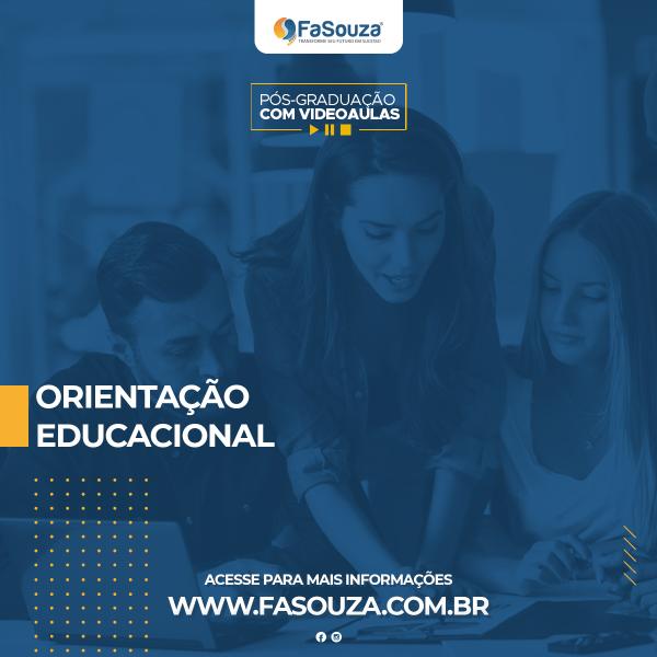 Faculdade FaSouza - ORIENTAÇÃO EDUCACIONAL