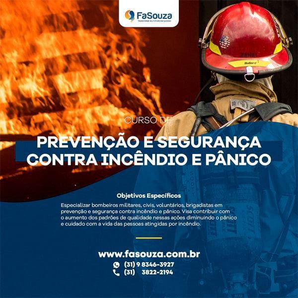 Pós-Graduação Prevenção e Segurança contra Incêndio e Pânico