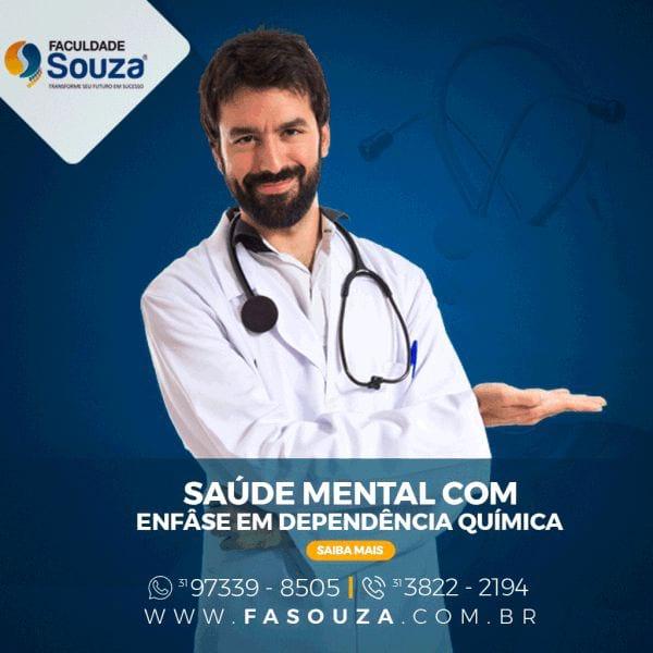 Pós-Graduação Saúde Mental com Ênfase em Dependência Químic
