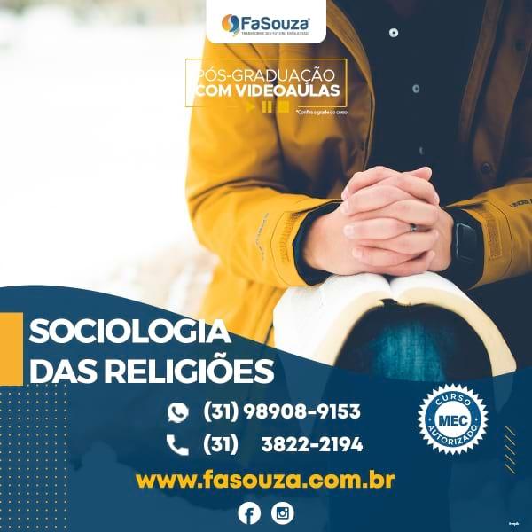 Faculdade FaSouza - Sociologia das Religiões