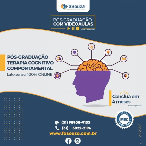 Faculdade FaSouza - Terapia Cognitivo Comportamental 420 horas